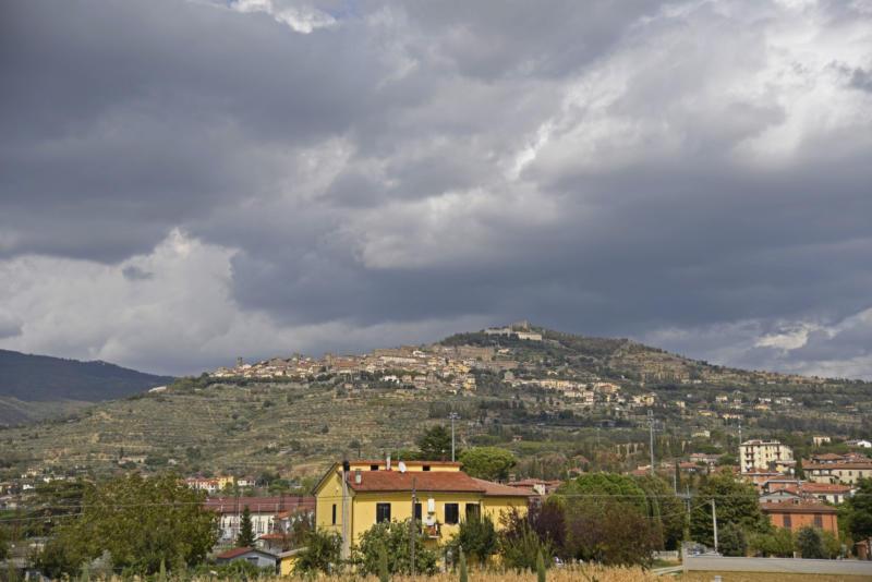 Cortona hill