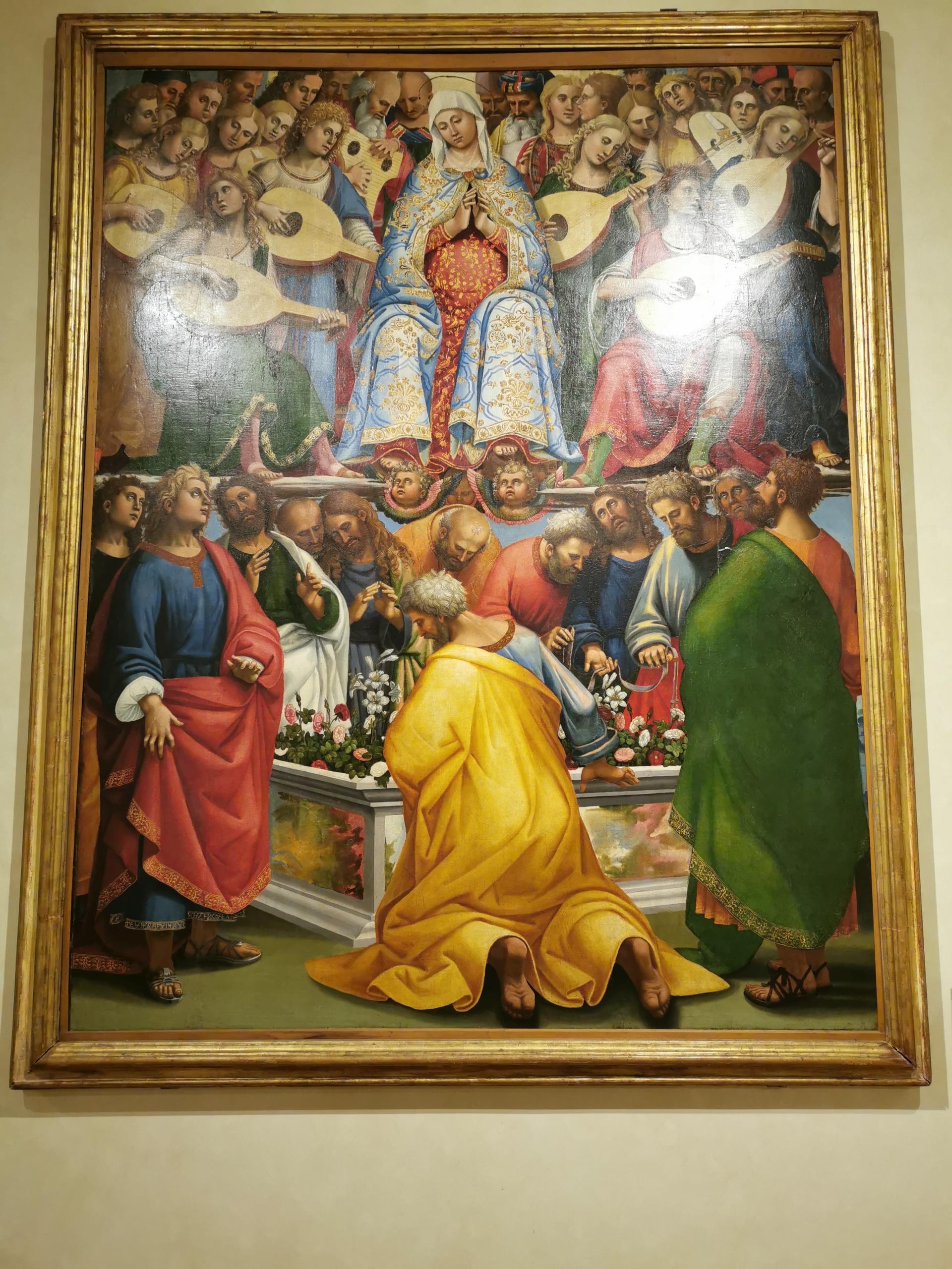 Luca Signorelli painting cortona